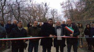 Inaugurazione strada Furci-fondovalle treste