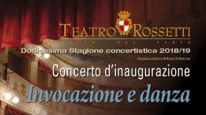 Teatro Rossetti inaugurazione 2018/19