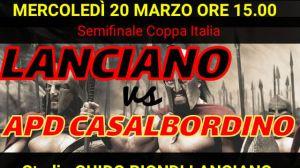 Lanciano Casalbordino Coppa Italia