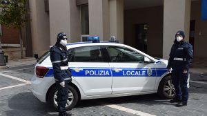 Mascherine polizia locale