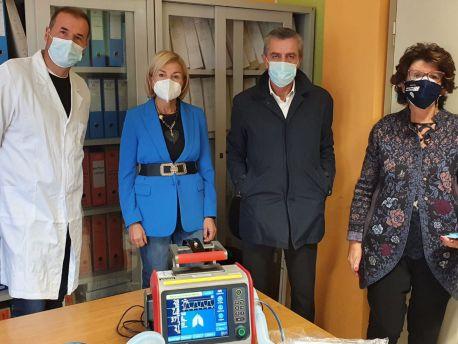 Rotary club dona ospedale San Pio