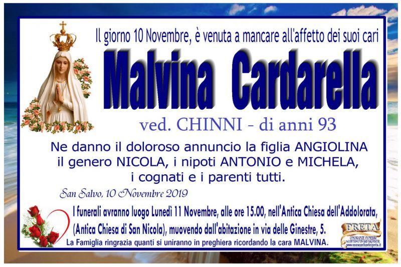 Malvina Cardarella 10/11/2019