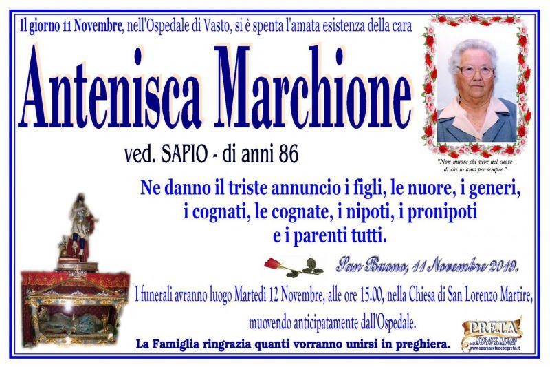 Antenisca Marchione 11/11/2019