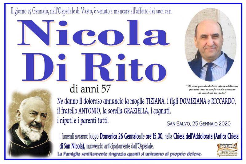 Nicola Di Rito 25/01/2020