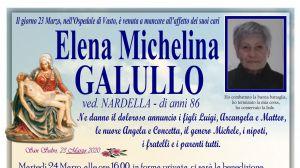 Elena Michelina Galullo 23/03/2020
