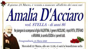 Amalia D'Acciaro 24/03/2020