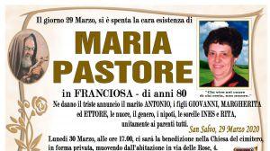 Maria Pastore 29/03/2020