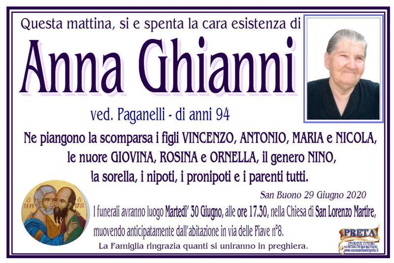Anna Ghianni 29/06/2020