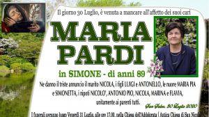 Maria Pardi 30/07/2020