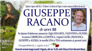Giuseppe Racano 2/08/2020