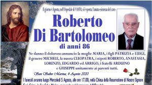 Roberto Di Bartolomeo 4/08/2020
