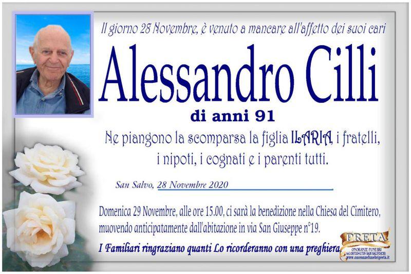 Alessandro Cilli 28/11/2020