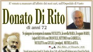 Donato Di Rito 23/12/2020