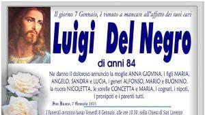 Luigi Del Negro 7/01/2021