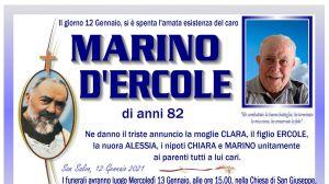 Marino D'Ercole 12/01/2021