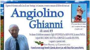 Angiolino Ghianni 14/01/2021