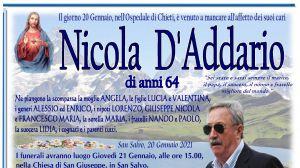 Nicola D'Addario 20/01/2021
