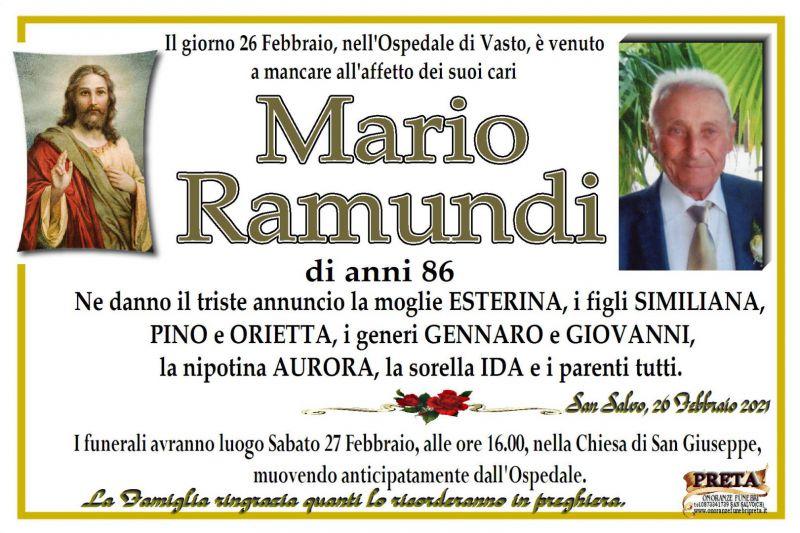 Mario Ramundi 26/02/2021