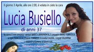 Lucia Busiello 3/04/2021