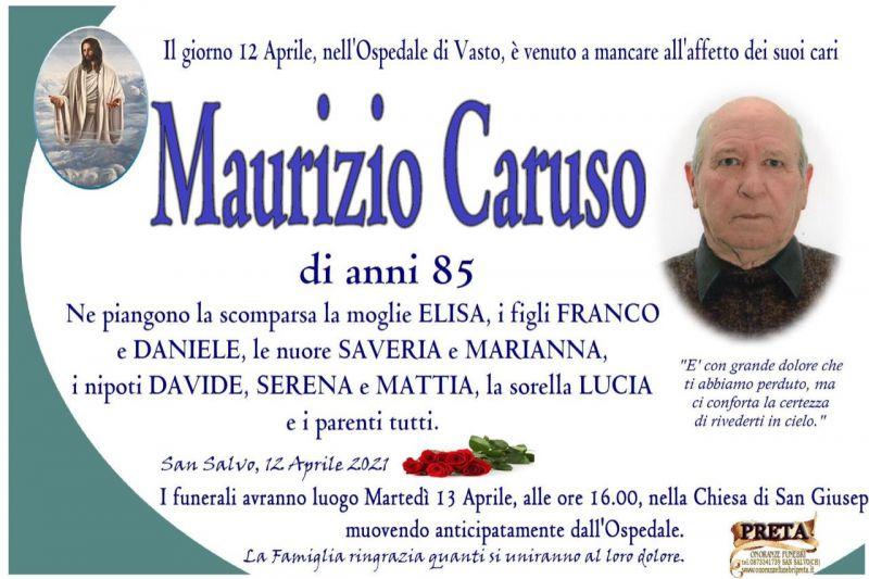 Maurizio Caruso 12/04/2021