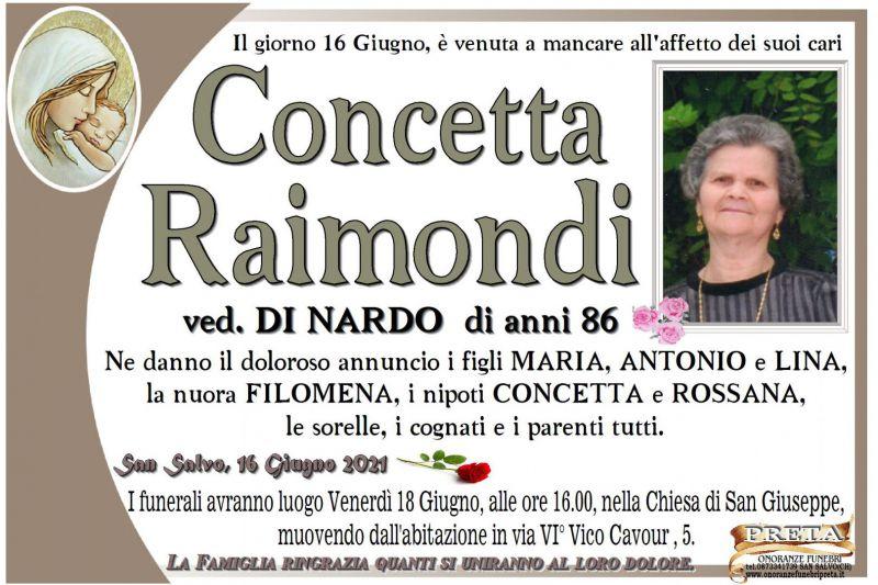 Concetta Raimondi 16/06/2021