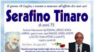 Serafino Tinaro 18/07/2021