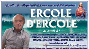 Ercole D'Ercole 24/07/2021