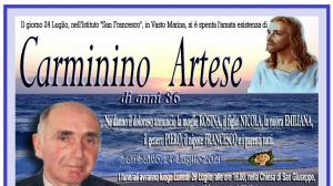 Carminino Artese 24/07/2021