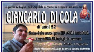 Giancarlo Di Cola 24/07/2021