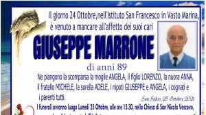 Giuseppe Marrone 24/10/2021